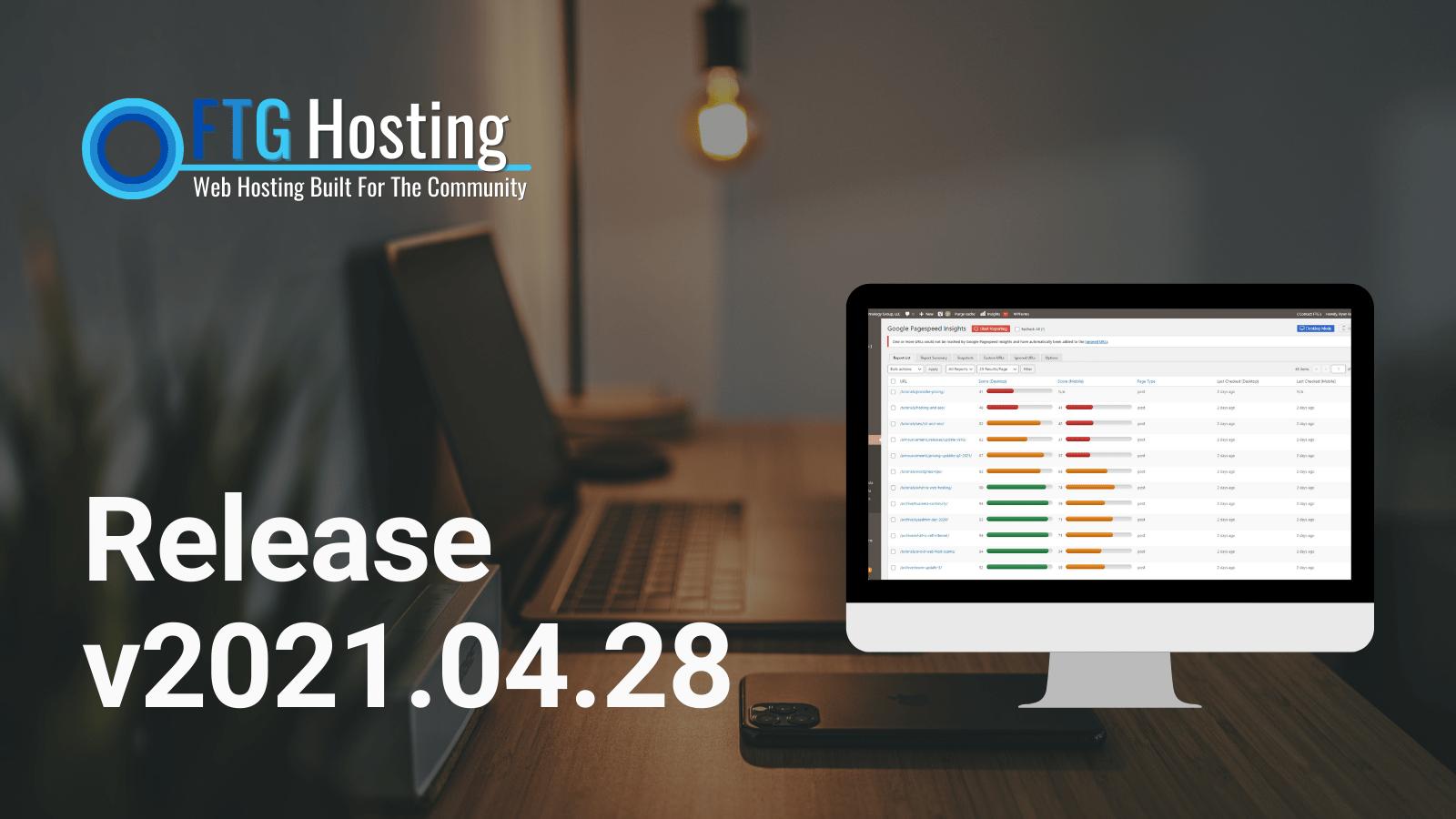 🔄 FTG Host – Platform Update (v2021.04.28)